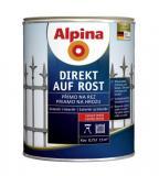 Obal Alpina Direct auf Rost - přímo na rez