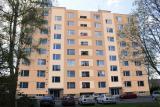 Vizualizace fasády - panelový dům Choceň